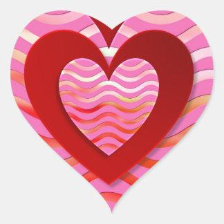 Fantastic image for love heart sticker