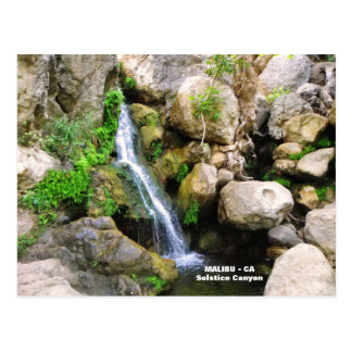 Fantastic Malibu Postcard! Postcard