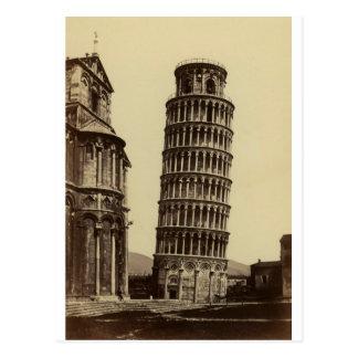 Fantastic photo of Pisa tower in 1860! Postcard