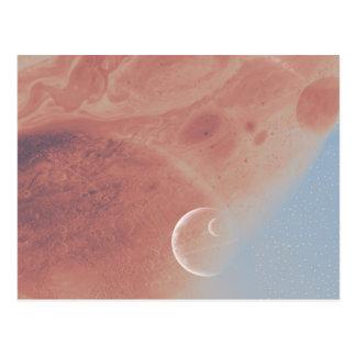 Fantastic Space Postcard