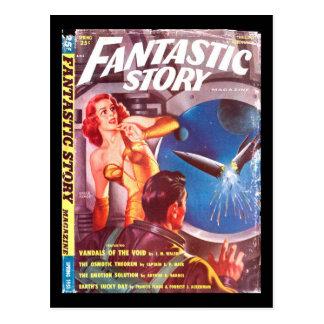 Fantastic Story Quarterly v02 n02 (1951-Spring.Thr Postcard