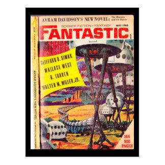 Fantastic v15 n05 (1966-05.Ultimate) (Gorgon776)_P Postcard