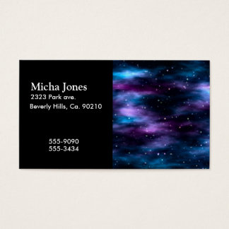 Fantastic Voyage Space Nebula Business Card