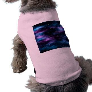 Fantastic Voyage Space Nebula Dog Shirt