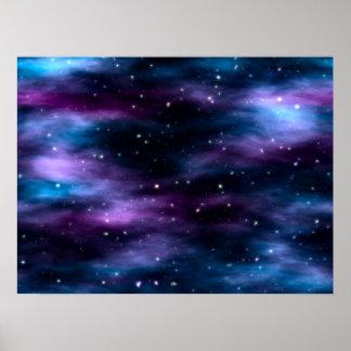 Fantastic Voyage Space Nebula Poster