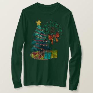 Fantastic Watercolor Christmas Personalized T-Shirt