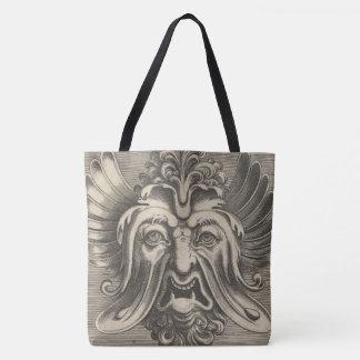 Fantastic Woodcut 2 Tote Bag