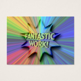 Fantastic Work ACEO Trading Card