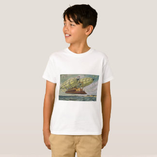 Fantastical Flying Machine from France, T-Shirt