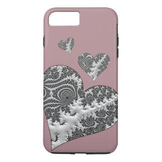 Fantasy 3 D Hearts iPhone 8 Plus/7 Plus Case