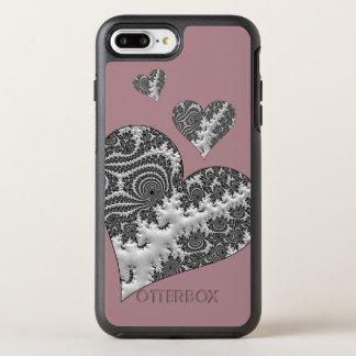 Fantasy 3 D Hearts OtterBox Symmetry iPhone 8 Plus/7 Plus Case