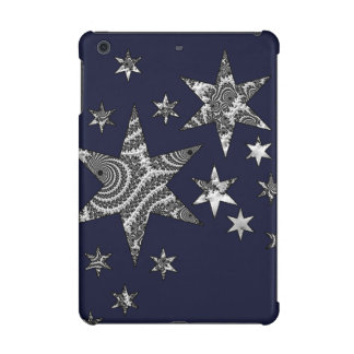 Fantasy 3 D Stars iPad Mini Retina Covers