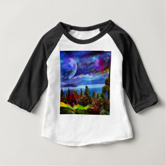 Fantasy and imagination live together baby T-Shirt
