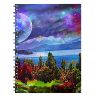 Fantasy and imagination live together note books