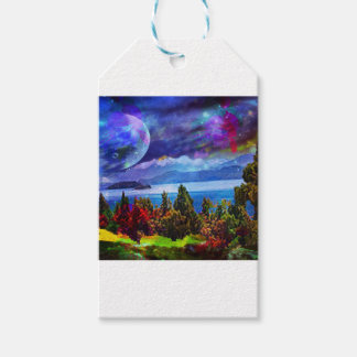 Fantasy and imagination live together pack of gift tags