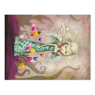 Fantasy Angel Girl Postcard