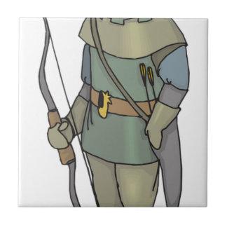 Fantasy Archer Man Bow Arrow Tile