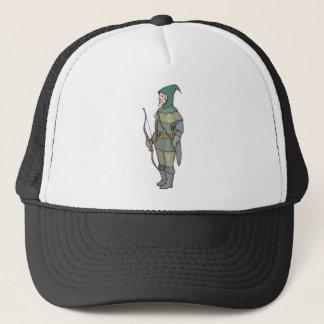 Fantasy Archer Man Bow Arrow Trucker Hat
