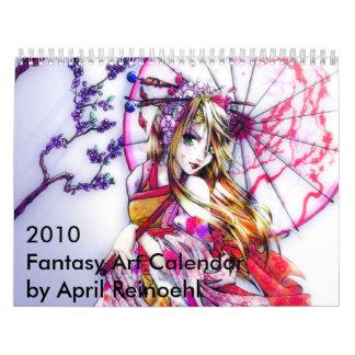 Fantasy Art 2010 Wall Calendar