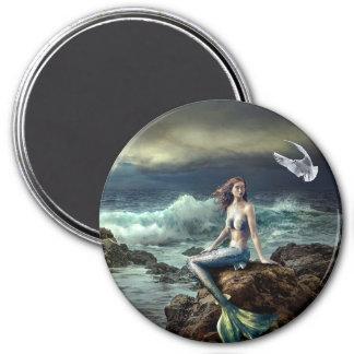 Fantasy Art Fairy Tale Mermaid  Magnet