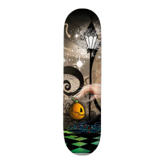 Fantasy art nouveau witch skate boards