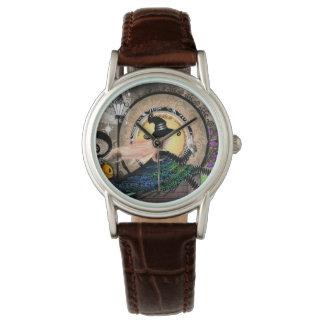Fantasy art nouveau witch watch