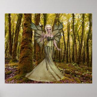 Fantasy Art Princess Forest Poster