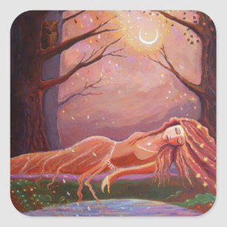 "Fantasy Art Stickers ""Waiting For A Dream"""