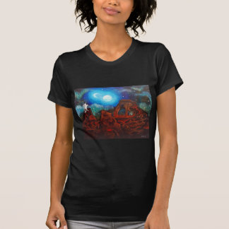 Fantasy aurora borealis, northern lights T-Shirt