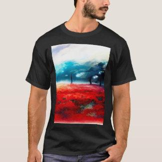 Fantasy Autumn Forest Airbrush Art T-Shirt