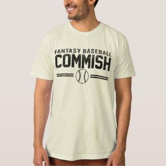 Fantasy Baseball Commish T Shirts