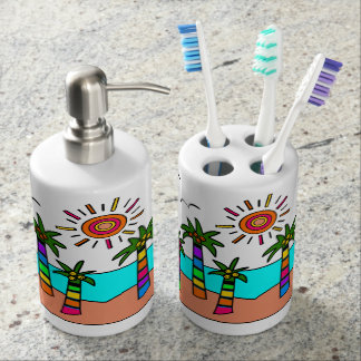 Fantasy Beach Bathroom Set