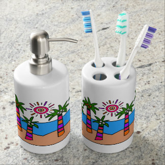Fantasy Beach II Bathroom Set
