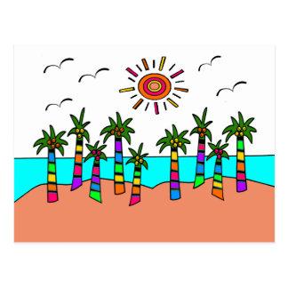 FANTASY BEACH POSTCARD