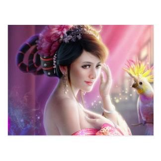 Fantasy Beauty 01 Postcard