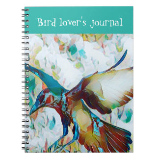 Fantasy Bird Lover's Journal