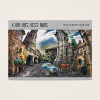 Fantasy Business Card (3.5x2.5)