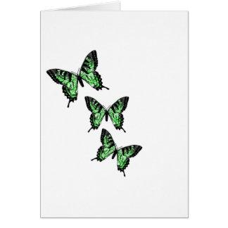 Fantasy Buterflies Card