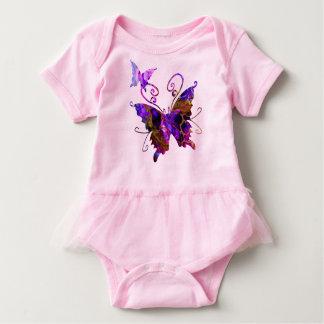Fantasy Butterflies Baby Bodysuit
