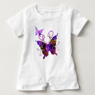 Fantasy Butterflies Baby Romper