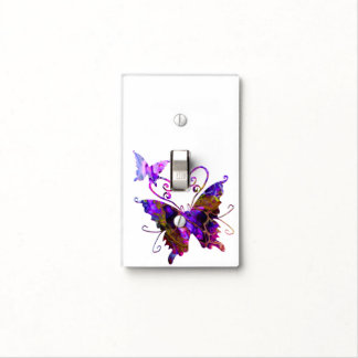 Fantasy Butterflies Light Switch Cover