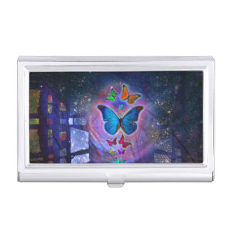 Fantasy Butterfly Business Card Cases