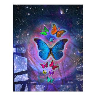 Fantasy Butterfly Full Color Flyer