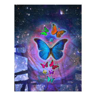 Fantasy Butterfly Full Colour Flyer