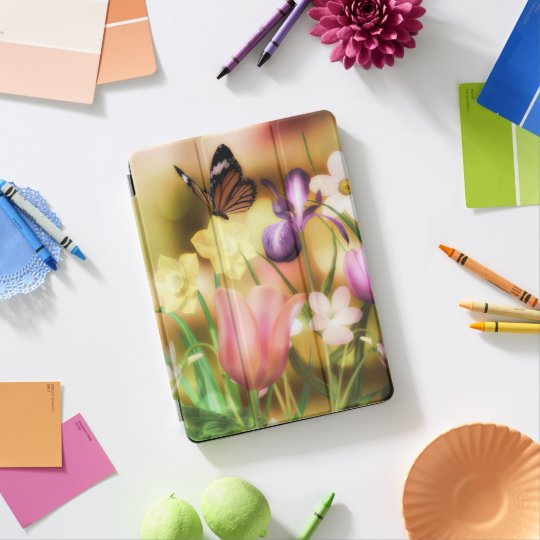 Fantasy Butterfly garden iPad pro case