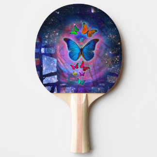 Fantasy Butterfly Ping-Pong Paddle