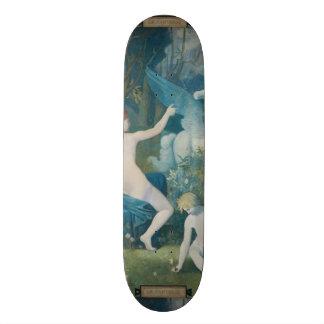 Fantasy by Pierre Puvis de Chavannes Skateboard