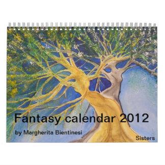 Fantasy Calendar 2012