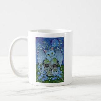 Fantasy Cats Oracle Affirmation - Death Coffee Mug
