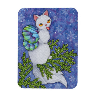 Fantasy Cats Oracle Affirmation - Diversity Rectangular Photo Magnet
